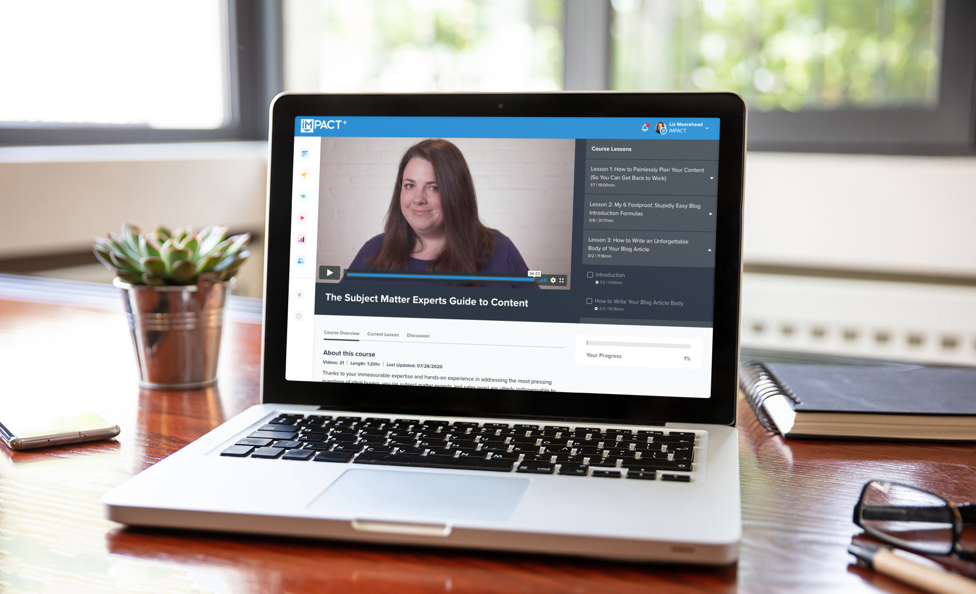 The subject matter expert's guide to creating content (new IMPACT+ course)