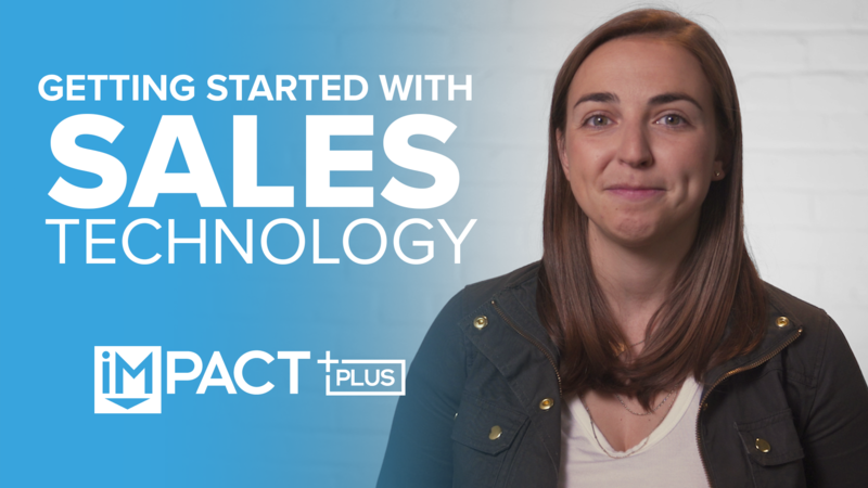 Getting Started with Sales Technology