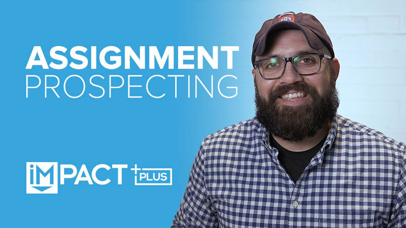 Assignment prospecting