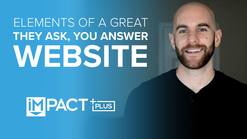 Elements of a great They Ask, You Answer website