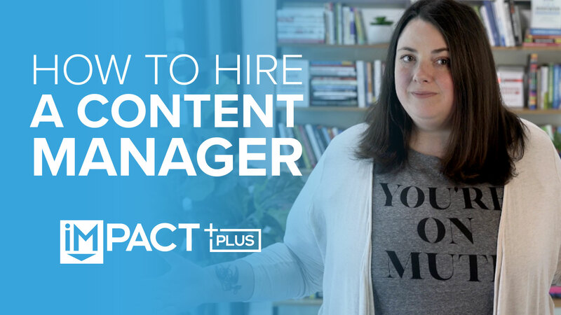 How to hire a content manager