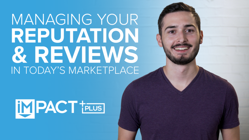 Managing your reputation and reviews in today's marketplace